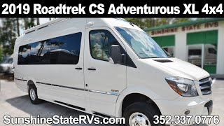 New 2019 Roadtrek CS-Adventurous XL 4x4 Class B RV