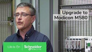 Upgrade your Premium PLC to Modicon M580