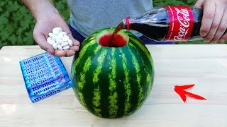 EXPERIMENT: Will Watermelon Explode ? thumbnail