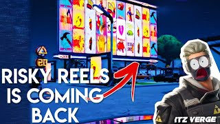 *LEAKED* Risky Reels is Coming Back to Fortnite Battle Royale in SEASON 9 OMG (Must Watch)