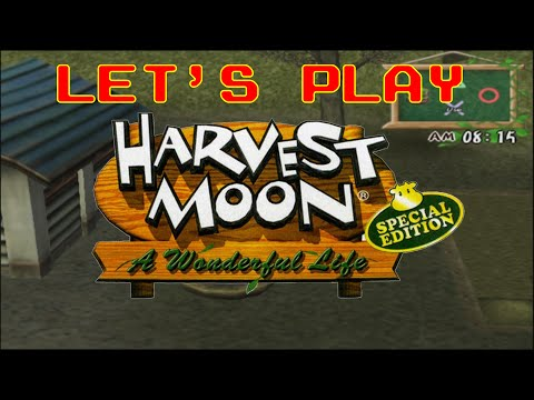 [21] Artistic License - Let's Play Harvest Moon A Wonderful Life Special Edition