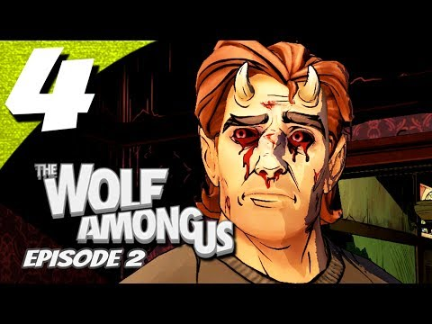 Let's Play The Wolf Among Us Episode 2 Smoke and Mirrors - Part 4 - Surprise! Cliffhanger!