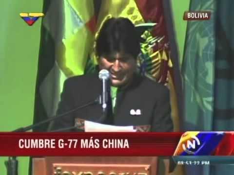 Discurso de Evo Morales en Cumbre G77+China: Pide disolver Consejo Seguridad ONU