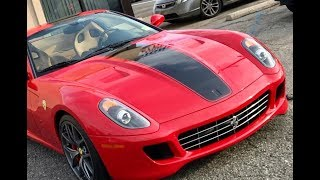 Ferrari vs supercharged civic Si
