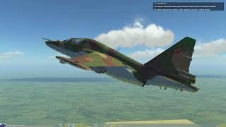 DCS World: Обучение Су-25Т - Бомбометание