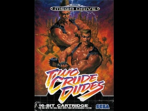Two Crude Dudes GENESIS 720P HD Playthrough (US VERSION)