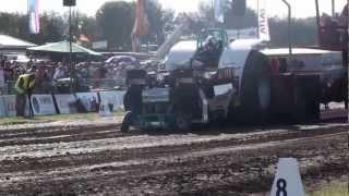 Tractor Pulling best of  Wild Rides and Fire 2012 (HD)