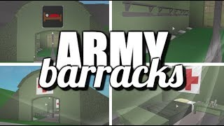 [ROBLOX]: Welcome To Bloxburg | Army Barracks | 8K / 5K