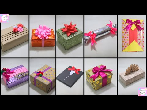10 Fantastic Gift Wrap Ideas / 10 EASY GIFT WRAPPING IDEAS AND HACKS