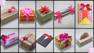 10 Fantastic Gift Wrap Ideas  10 EASY GIFT WRAPPING IDEAS AND HACKS