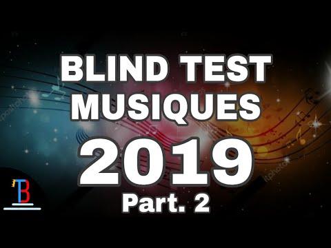 BLIND TEST MUSIQUES 2019 DE 68 EXTRAITS  [PART.2] (AVEC RÉPONSES)