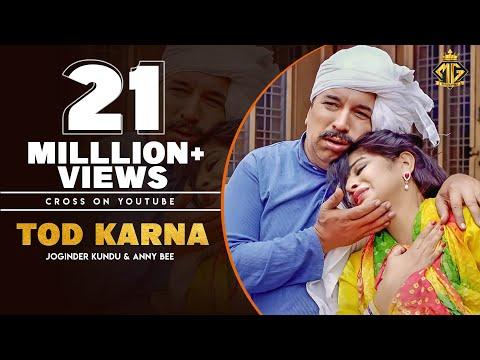 Tod Karna | Joginder Kundu, Anny Bee, Dpk | Latest Haryanvi Songs Haryanvi 2019 | Mg Records