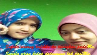 Fatin sidqia - Proud of you moeslem karaoke + lirik
