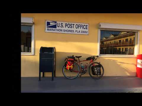 Florida Post Offices by Bike