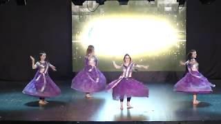 Aytunç Bentürk D.A yıl sonu gösterileri 2017 Bollywood Show 1 Tülin Hançer Team