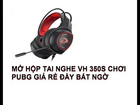 DAREU VH350S || FUVA mở hộp tai nghe chơi PUBG chất lượng tốt trong tầm giá