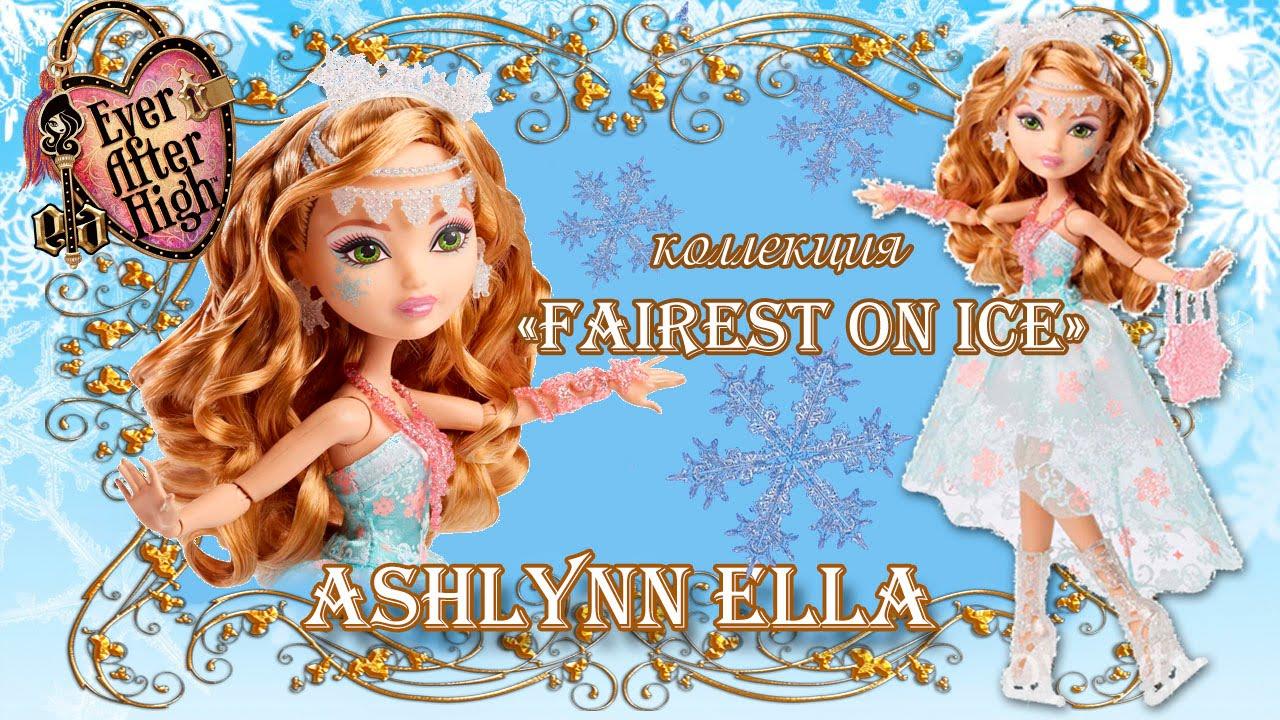 НОВИНКИ 2016 новые куклы Эвер Афтер Хай Crystal Winter Epic обзор .