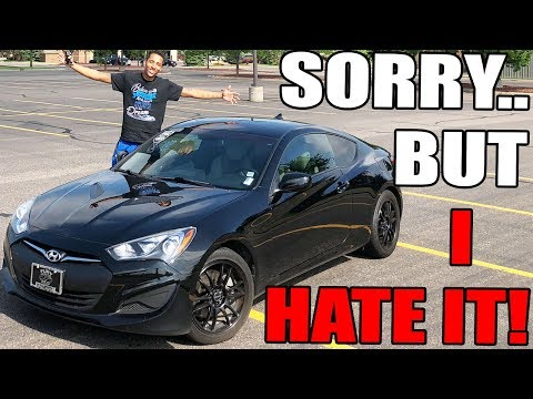 Hyundai Genesis Coupe Review!! From A Tall Guys Perspective.