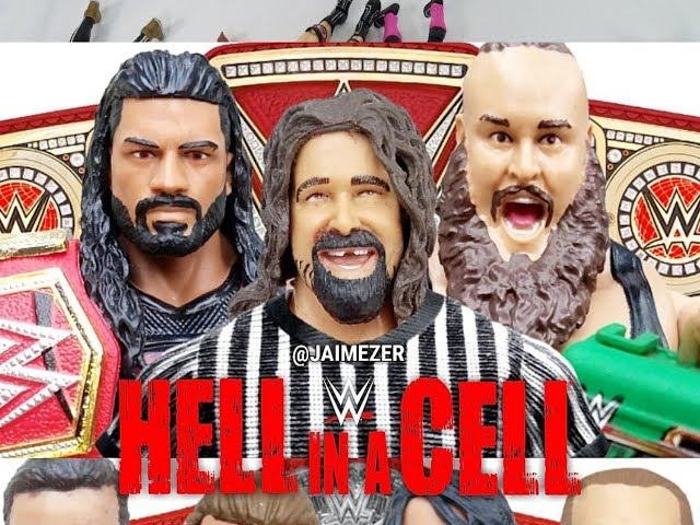 WWE HELL IN A CELL 2018 PREDICTIONS | WWE FIGURES
