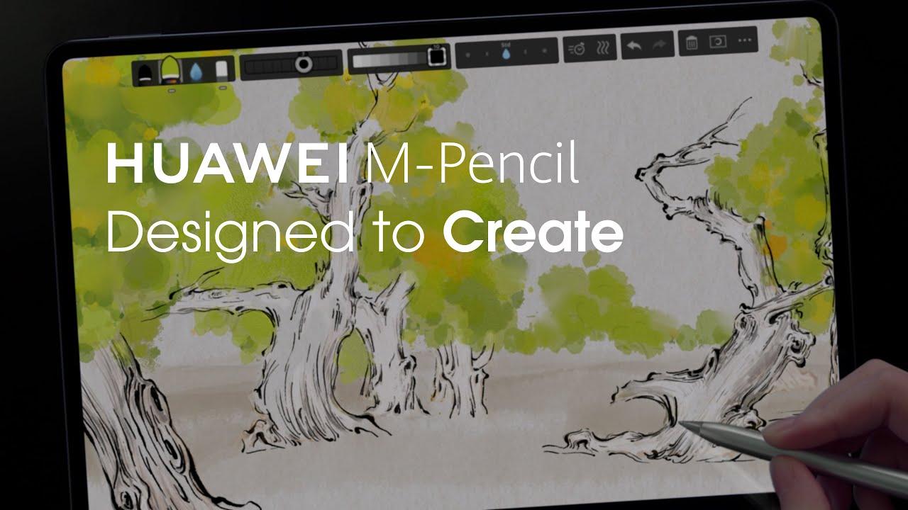 HUAWEI M-Pencil - Designed to Create