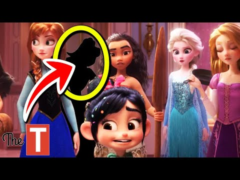 There Is One Disney Princess MISSING From Wreck-It Ralph 2