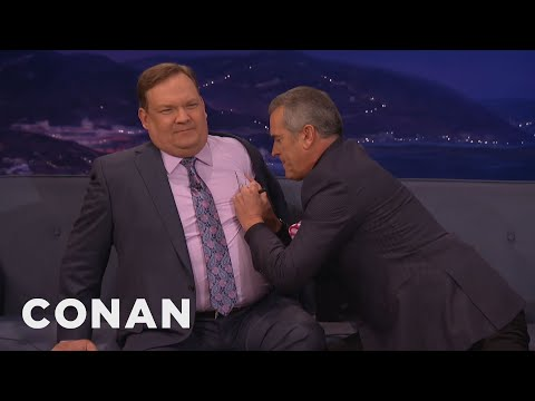 Bruce Campbell's Tips For Autographing Breasts  - CONAN on TBS