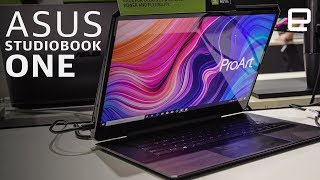 Asus ProArt Studiobook One: a $4000 GPU in a laptop