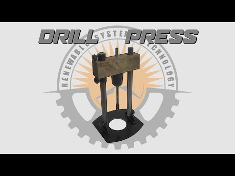 🛠 Make A DIY Portable Drill Press - Plans Available 📄