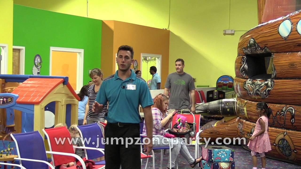 Jump Zone Birthday Parties indoor bounce house moonwalk giant