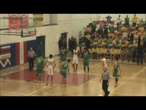 St. Mary's at Moon Valley Boys Basketball - 2017 Arizona State Playoffs