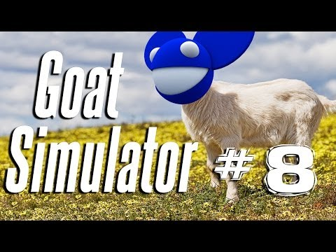 GOAT IN THE BIG CITY | Goat Simulator - Part 8