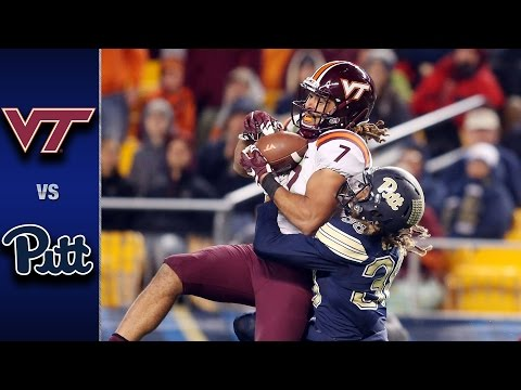 Virginia Tech vs. Pittsburgh Football Highlights (2016)