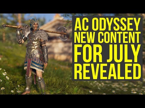 Assassin's Creed Odyssey DLC - There Is Still Something Coming In July & Beyond (AC Odyssey DLC)