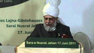 Opening of Lajna guest house in Frankfurt am Main , Germany 2011
