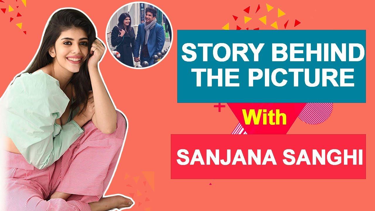 Sanjana Sanghi Reveals Stories Behind Sushant Singh Rajput's Pictures | Dil Bechara | BOI