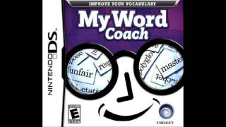 My Word Coach - Training: Block Letters