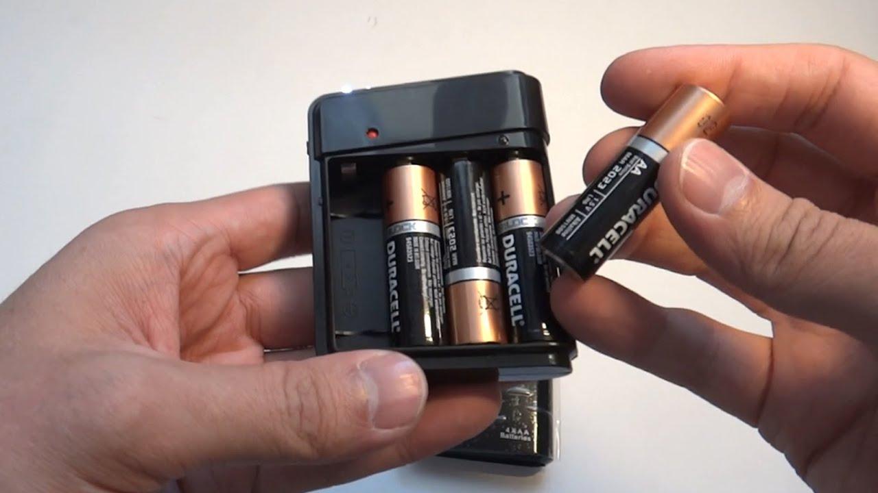 Как сделать повер банк своими руками из батареек