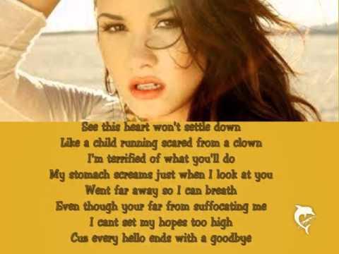 Demi Lovato - Catch Me Lyrics