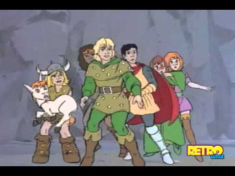 Dungeons Dragons Cartoon Intro 1983 Youtube
