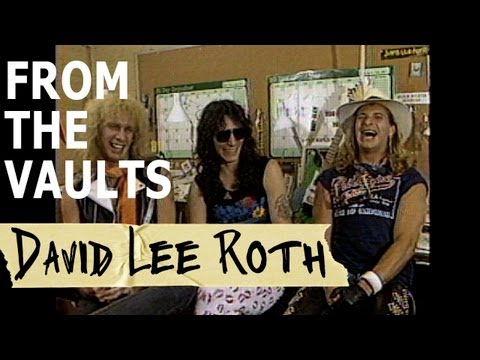 David Lee Roth Interview From 1986 From The Vaults Youtube