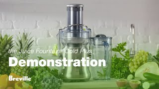 the Juice Fountain® Cold Plus: Demonstration Video