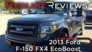 2013 Ford F-150 FX4 EcoBoost Review, Walkaround, Exhaust, Test Drive