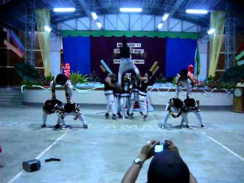 NOTRE DAME OF KALAMANSIG 2nd year hiphop dancers.....