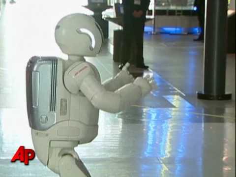 Prince Meets Dancing Robot