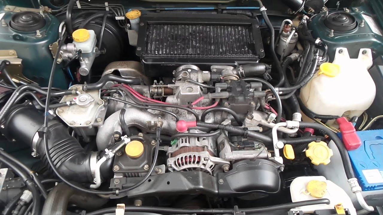 Subaru Forester Ej20 Turbo Engine For Sale Brisbane