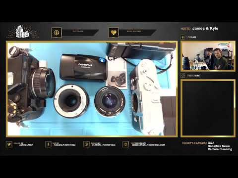 Nikon Nikonos Maintenance / Chat - Casual Photophile Live Stream VOD EPISODE 007