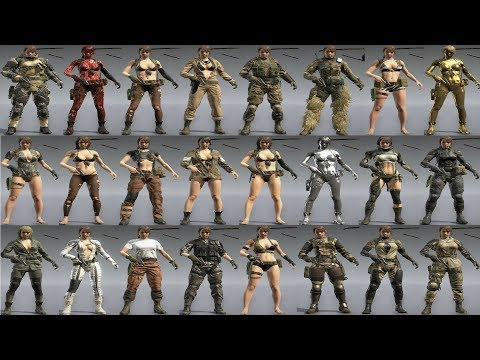 MGSV Multi Quiet Player Mod Outfits