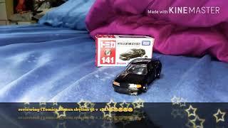 Tomica(Nissan skyline gt-r r32)😂😊😉