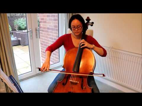 Cello 6 months on - Vocalise from 14 Romances, Op 34. by Rachmaninoff