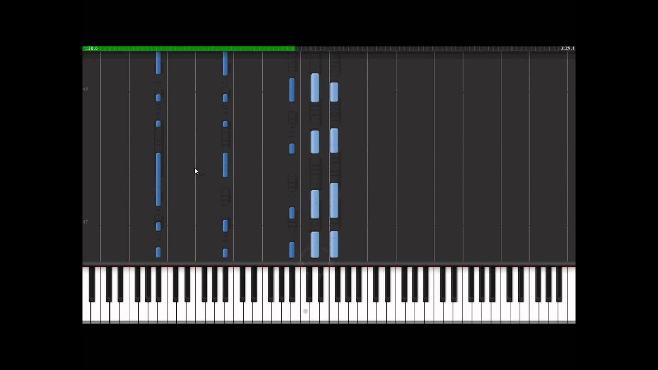 Radiohead codex piano cover and synthesia tutorial youtube radiohead codex piano cover and synthesia tutorial hexwebz Images